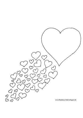 Großes Herz mit vielen kleinen Herzen
