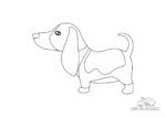 Basset Hound Hund