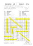 Ausmalbild Buchstabensalat - groß - 2 - Weihnachten Lösung