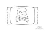 Halloween Totenkopf-Bonbon