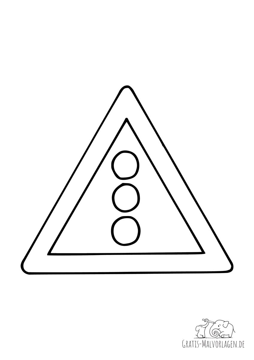 Verkehrszeichen Ampel (131 Lichtzeichenanlage)
